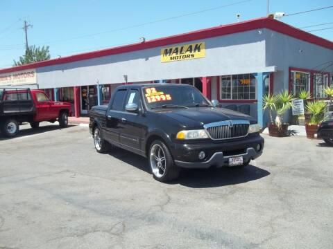 2002 Lincoln Blackwood for sale at Atayas Motors INC #1 in Sacramento CA