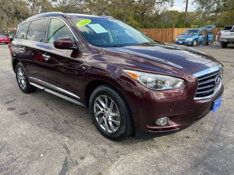 2015 Infiniti QX60 for sale at QUALITY PREOWNED AUTO in Houston TX