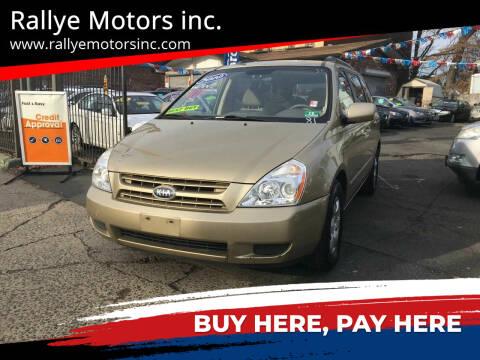 2010 Kia Sedona for sale at Rallye  Motors inc. in Newark NJ