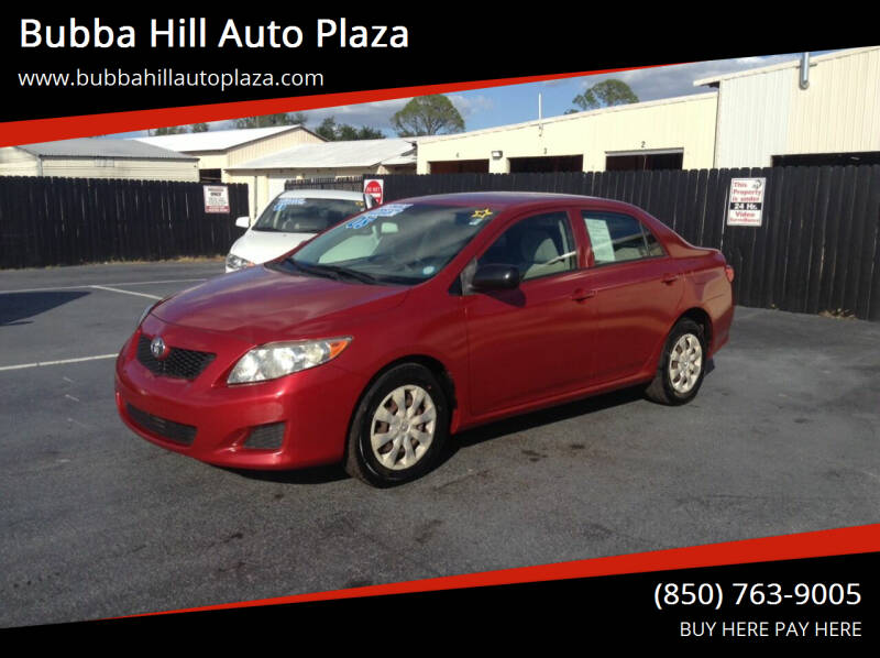 2009 Toyota Corolla for sale at Bubba Hill Auto Plaza in Panama City FL