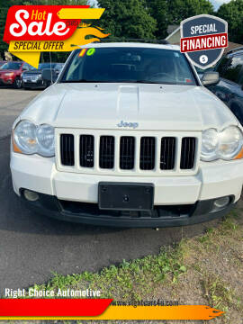 2010 Jeep Grand Cherokee for sale at Right Choice Automotive in Rochester NY
