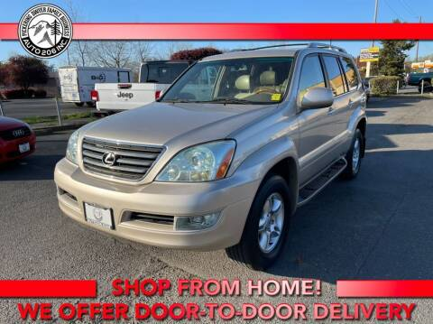 2007 Lexus GX 470 for sale at Auto 206, Inc. in Kent WA