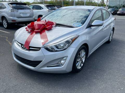 2014 Hyundai Elantra for sale at Charlotte Auto Group, Inc in Monroe NC