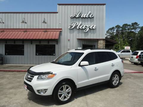2012 Hyundai Santa Fe for sale at Grantz Auto Plaza LLC in Lumberton TX