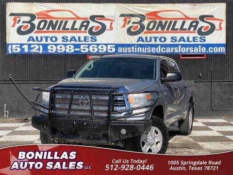 2017 Toyota Tundra for sale at Bonillas Auto Sales in Austin TX