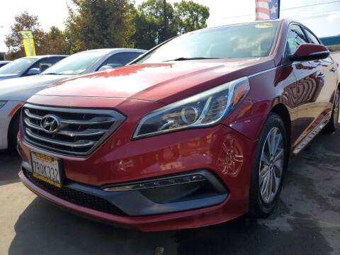 2015 Hyundai Sonata for sale at ALL CREDIT AUTO SALES in San Jose CA