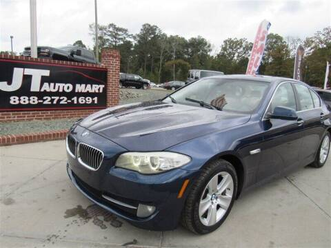 2013 BMW 5 Series for sale at J T Auto Group in Sanford NC