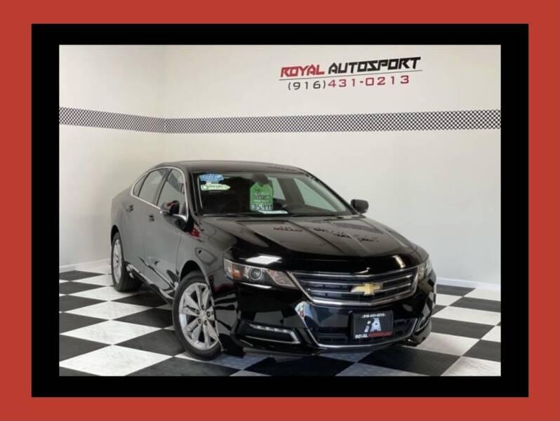2019 Chevrolet Impala for sale at Royal AutoSport in Sacramento CA