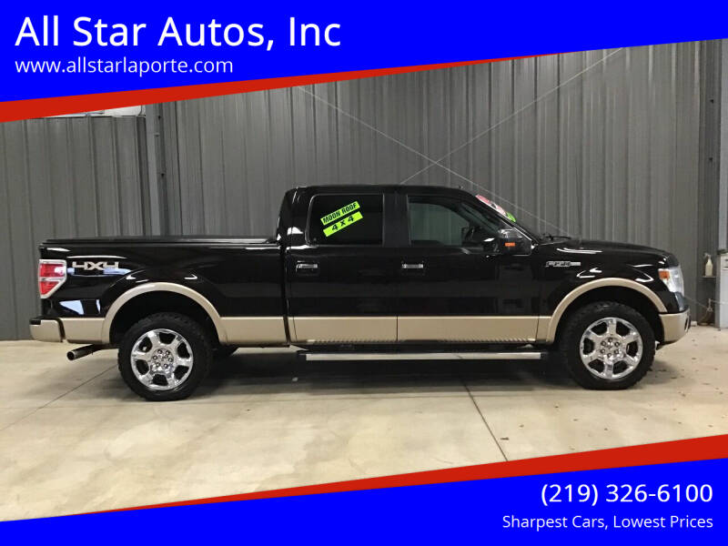 2014 Ford F-150 for sale at All Star Autos, Inc in La Porte IN