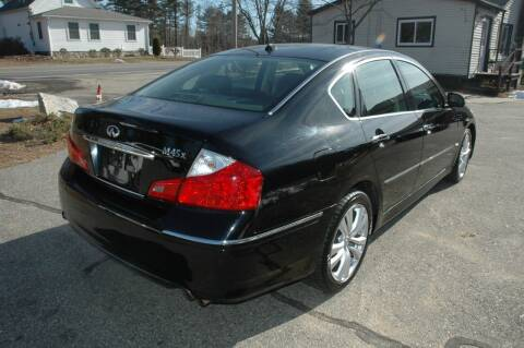 2008 Infiniti M45 for sale at Bruce H Richardson Auto Sales in Windham NH