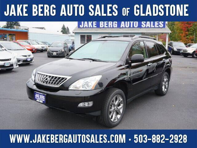 2009 Lexus RX 350 for sale at Jake Berg Auto Sales in Gladstone OR