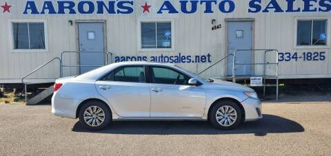 2012 Toyota Camry for sale at Aaron's Auto Sales in Corpus Christi TX