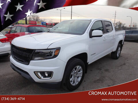 2018 Chevrolet Colorado for sale at Cromax Automotive in Ann Arbor MI