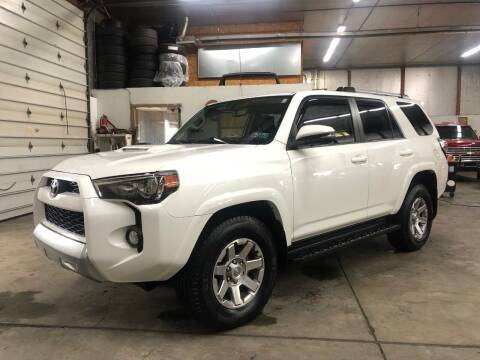 2016 Toyota 4Runner for sale at T James Motorsports in Gibsonia PA