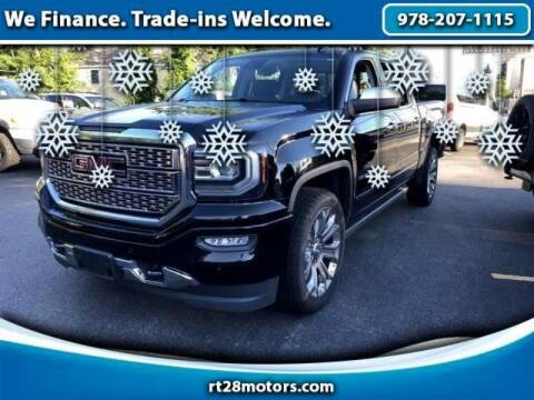2017 GMC Sierra 1500 for sale at RT28 Motors in North Reading MA