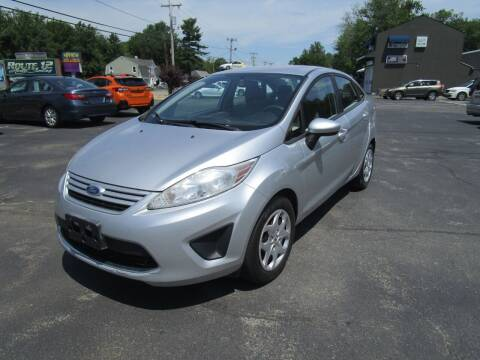2011 Ford Fiesta for sale at Route 12 Auto Sales in Leominster MA