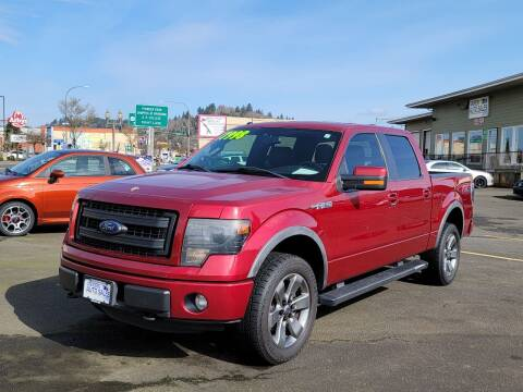 2013 Ford F-150 for sale at Aberdeen Auto Sales in Aberdeen WA