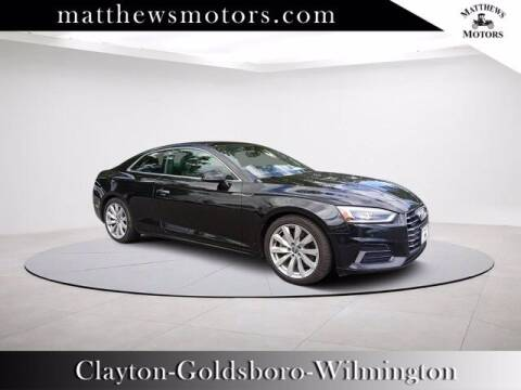 2018 Audi A5 for sale at Auto Finance of Raleigh in Raleigh NC