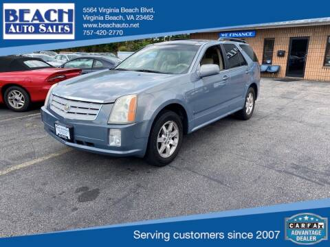 2007 Cadillac SRX for sale at Beach Auto Sales in Virginia Beach VA