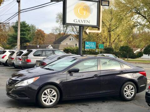 2011 Hyundai Sonata for sale at Gaven Auto Group in Kenvil NJ