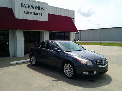 2011 Buick Regal for sale at Fairwinds Auto Sales in Dewitt AR