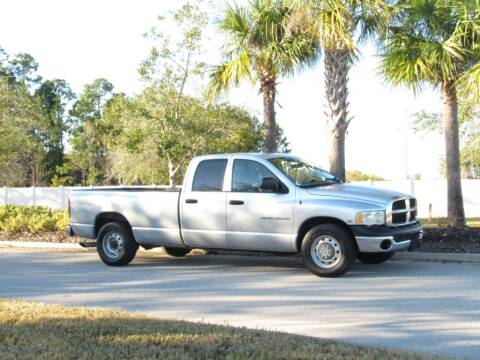 2005 Dodge Ram Pickup 2500 for sale at AEM Automotive in Jacksonville FL