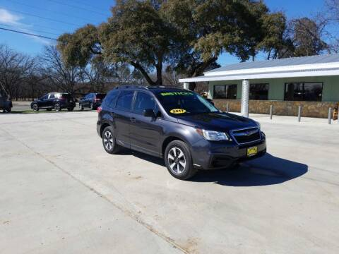 2017 Subaru Forester for sale at Bostick's Auto & Truck Sales in Brownwood TX