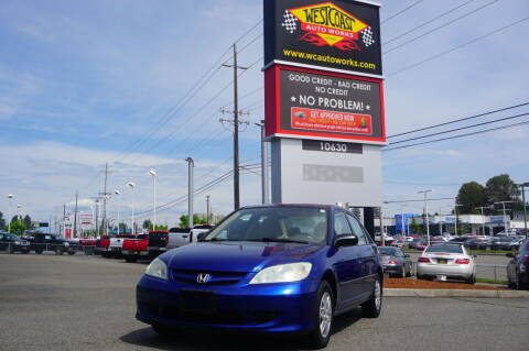 2004 Honda Civic for sale at West Coast Auto Works in Edmonds WA