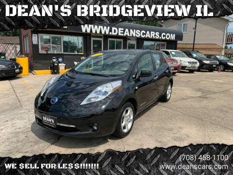 2012 Nissan LEAF for sale at DEANSCARS.COM in Bridgeview IL