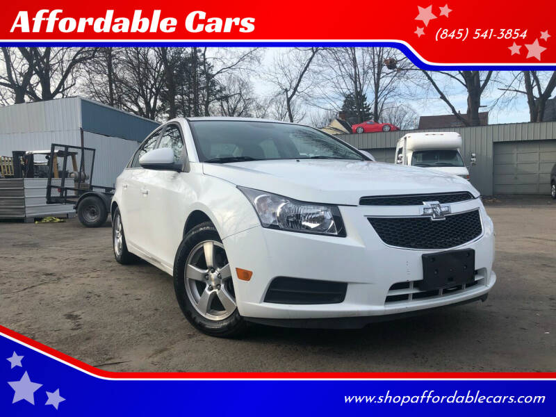 2014 Chevrolet Cruze for sale at Affordable Cars in Kingston NY