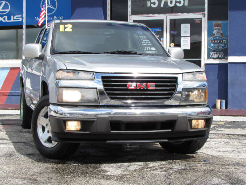 2012 GMC Canyon for sale at Orlando Auto Connect in Orlando FL