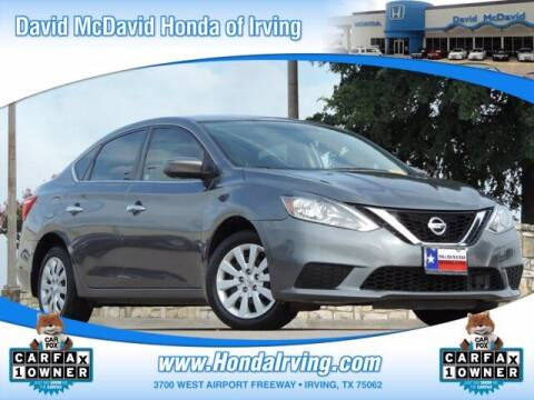 2019 Nissan Sentra for sale at DAVID McDAVID HONDA OF IRVING in Irving TX