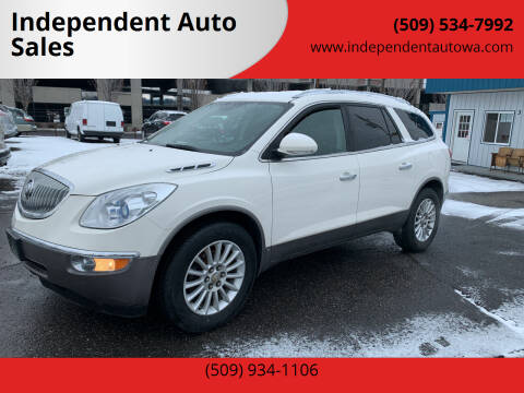 2009 Buick Enclave for sale at Independent Auto Sales #2 in Spokane WA