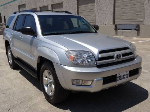 2004 Toyota 4Runner for sale at 123 Car 2 Go LLC in Dallas TX
