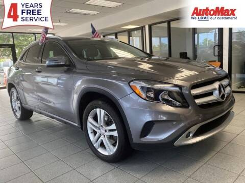 2015 Mercedes-Benz GLA for sale at Auto Max in Hollywood FL