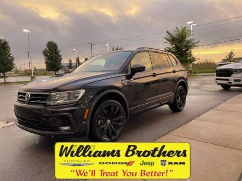 2020 Volkswagen Tiguan for sale at Williams Brothers - Pre-Owned Monroe in Monroe MI