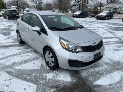 2015 Kia Rio for sale at Eddie's Auto Sales in Jeffersonville IN