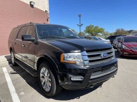 2016 Ford Expedition EL for sale at SOUTHFIELD QUALITY CARS in Detroit MI