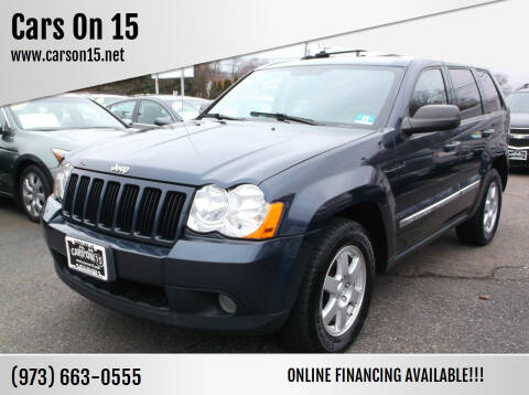 2010 Jeep Grand Cherokee for sale at Cars On 15 in Lake Hopatcong NJ