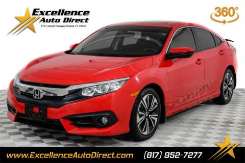 2018 Honda Civic for sale at Excellence Auto Direct in Euless TX