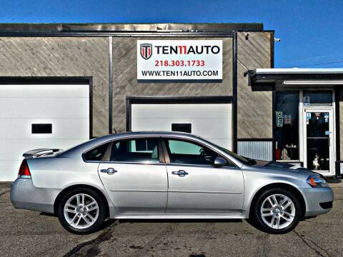 2013 Chevrolet Impala for sale at Ten 11 Auto LLC in Dilworth MN