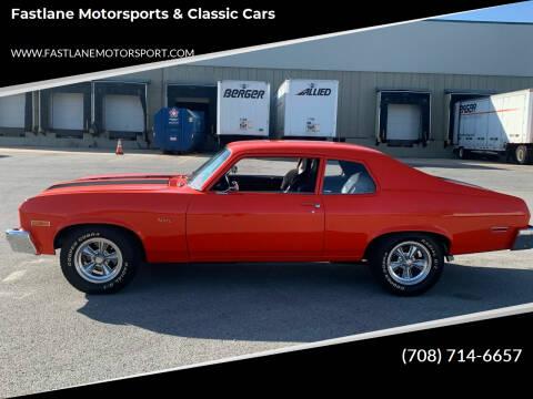 1973 Chevrolet Nova for sale at Fastlane Motorsports & Classic Cars in Addison IL