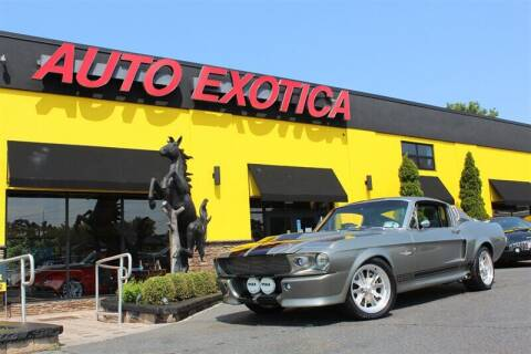 1968 Ford Mustang for sale at Auto Exotica in Red Bank NJ
