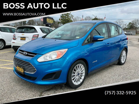 2014 Ford C-MAX Hybrid for sale at BOSS AUTO LLC in Norfolk VA