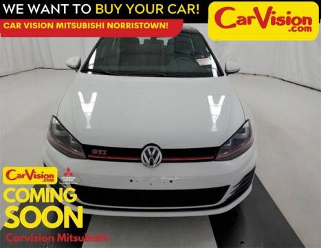 2017 Volkswagen Golf GTI for sale at Car Vision Mitsubishi Norristown in Norristown PA