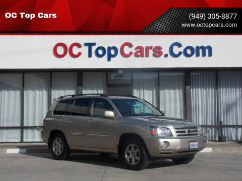 2007 Toyota Highlander for sale at OC Top Cars in Irvine CA