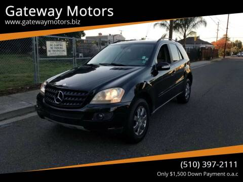 2006 Mercedes-Benz M-Class for sale at Gateway Motors in Hayward CA