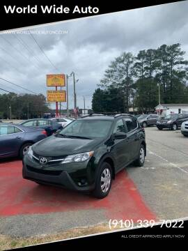 2013 Toyota RAV4 for sale at World Wide Auto in Fayetteville NC