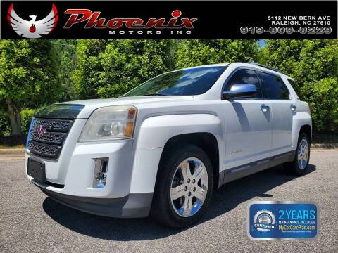 2013 GMC Terrain for sale at Phoenix Motors Inc in Raleigh NC