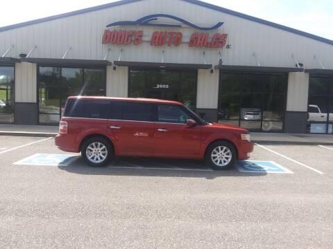 2009 Ford Flex for sale at DOUG'S AUTO SALES INC in Pleasant View TN